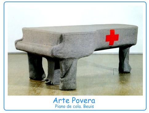 Obras Arte Povera la Obra de Arte e Inciden