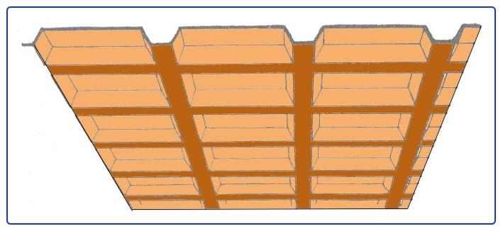 Abaco for Carton para techos de madera